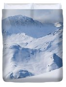 Les Arcs, France Duvet Cover