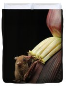 Lesser Long-tongued Fruit Bat Duvet Cover
