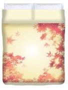 Let It Fall Duvet Cover by Amy Tyler