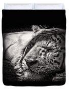 Let Sleeping Tiger Lie Duvet Cover
