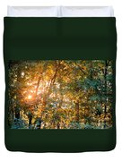 Let The Earth Arise Duvet Cover