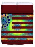 Let Your Freak Flag Fly Duvet Cover