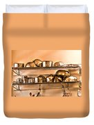 Lets Cook Tonight Duvet Cover