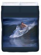 Let's Go Surfing Duvet Cover