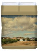 Let's Run Through The Orchard Duvet Cover
