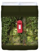 Letterbox In A Hedge Duvet Cover