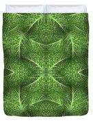 Lettuce Live Green  Duvet Cover by Sue Duda
