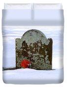 Lichen Tombstone Duvet Cover