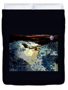 Life In The Tidepools Duvet Cover