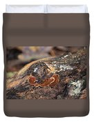 Life On A Log 3 Duvet Cover