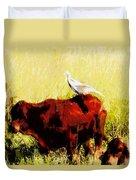Life On The Farm V4 Duvet Cover