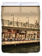Life On The Water Duvet Cover