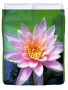 Light Pink Water Lily Duvet Cover