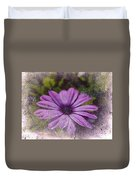 Light Purple Daisy Duvet Cover