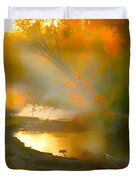Light Up The Creek Duvet Cover