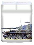 Light Weight Battle Tank Duvet Cover