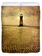 Lighthouse Grunge Duvet Cover