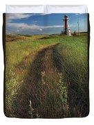 Lighthouse On Pei 127 Duvet Cover