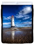 Lighthouse Reflections Duvet Cover