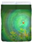 Lightning Spider Duvet Cover