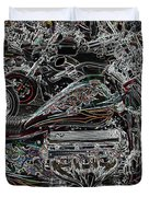 Lights Out  Duvet Cover by Anthony Wilkening