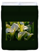Lilies Of The Nile Duvet Cover