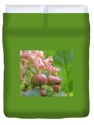 Lilly Of The Valley Close Up Duvet Cover