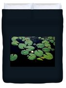 Lily Alone Duvet Cover