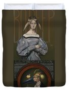 Lily Beau Pepys Duvet Cover by Patrick Anthony Pierson