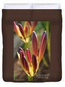 Lily Candles Duvet Cover