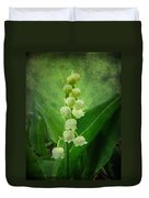 Lily Of The Valley - Convallaria Majalis Duvet Cover