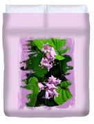 Lily Of The Valley - In The Pink #1 Duvet Cover