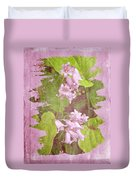 Lily Of The Valley - In The Pink #3 Duvet Cover