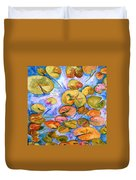 Lily Pad Time Duvet Cover