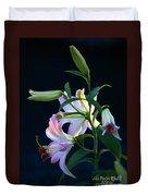 Lily Pod To Flower Duvet Cover