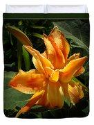Lily Survival Duvet Cover