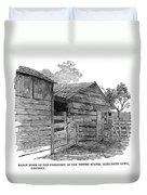 Lincoln Birthplace Duvet Cover