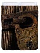 Lincoln Lock Duvet Cover