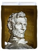 Lincoln Profle 2 Duvet Cover