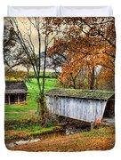 Lincoln's Homestead Duvet Cover