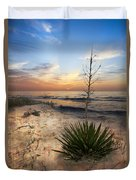 Linger By The Sea Duvet Cover