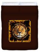 Lioness Face Duvet Cover