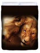 Lioness Love Duvet Cover