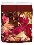 Liquidambar Autumn Duvet Cover