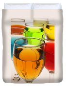 Liquor Glasses Duvet Cover