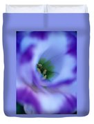 Lisianthus Duvet Cover by Kathy Yates