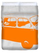 Little Bus Duvet Cover by Naxart Studio