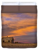 Little House On The Colorado Prairie 2 Duvet Cover by James BO  Insogna