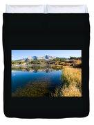 Little Molas Lake Duvet Cover