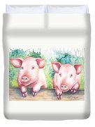 Little Piggies Duvet Cover